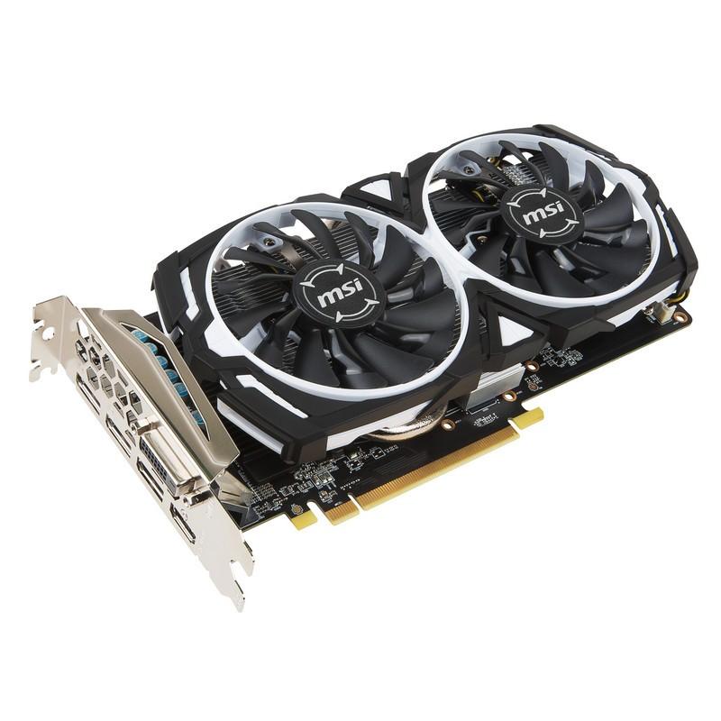 Tarjeta Gráfica MSI AMD RX570 ARMOR OC 4GB GDDR5