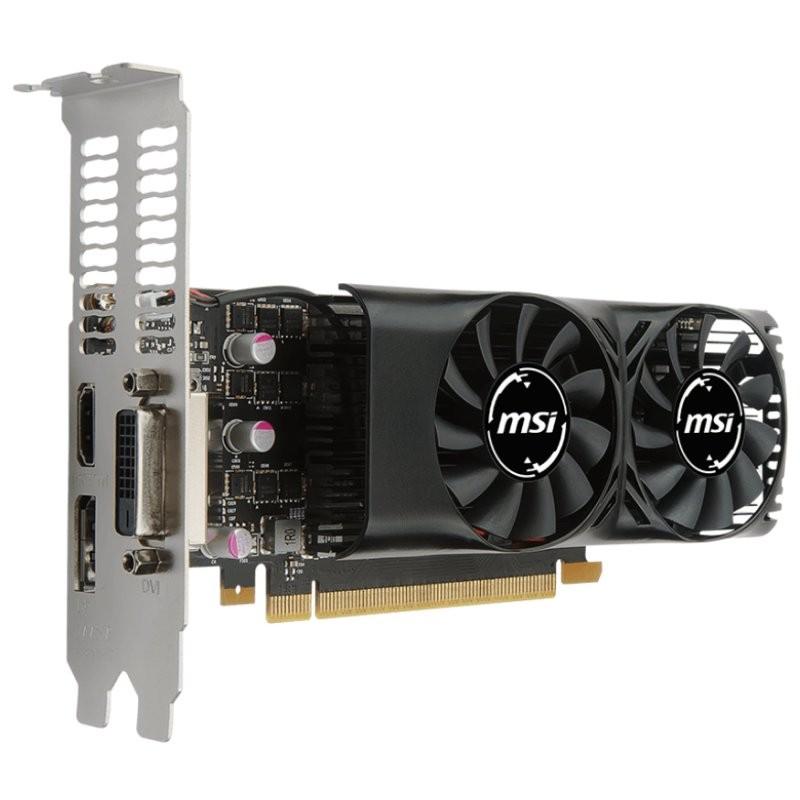 Tarjeta Gráfica MSI GeForce GTX 1050 2GT LP 2GB GDDR5
