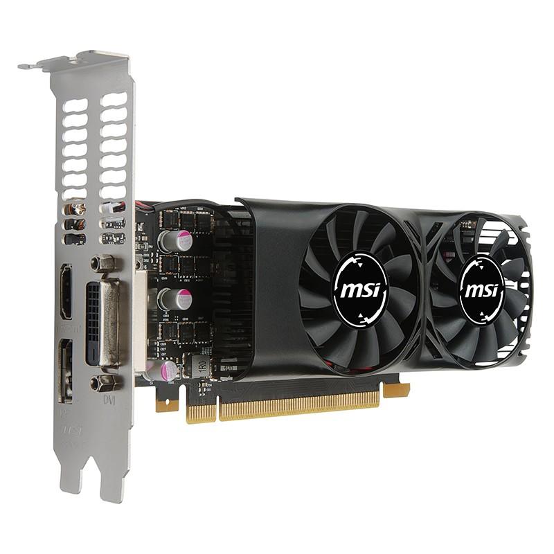 Tarjeta Gráfica MSI GeForce GTX 1050 Ti 4GT LP 4GB GDDR5