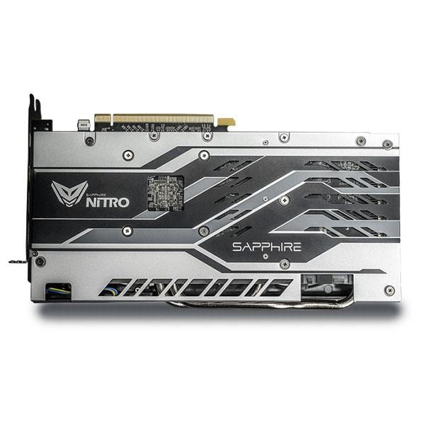Tarjeta Gráfica Sapphire NITRO+ Backplate Radeon RX 580 4GB GDDR5