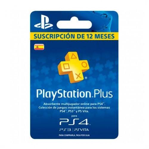 Playstation plus card suscripción 365 días