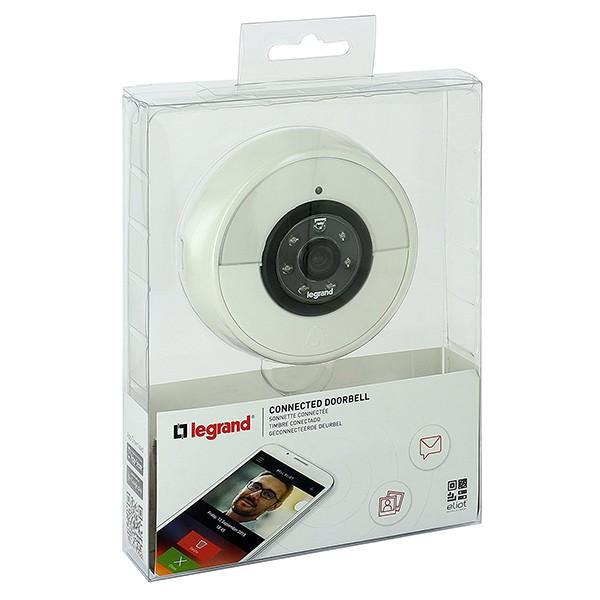 Timbre Inteligente Gran Angular Legrand 094230 Blanco
