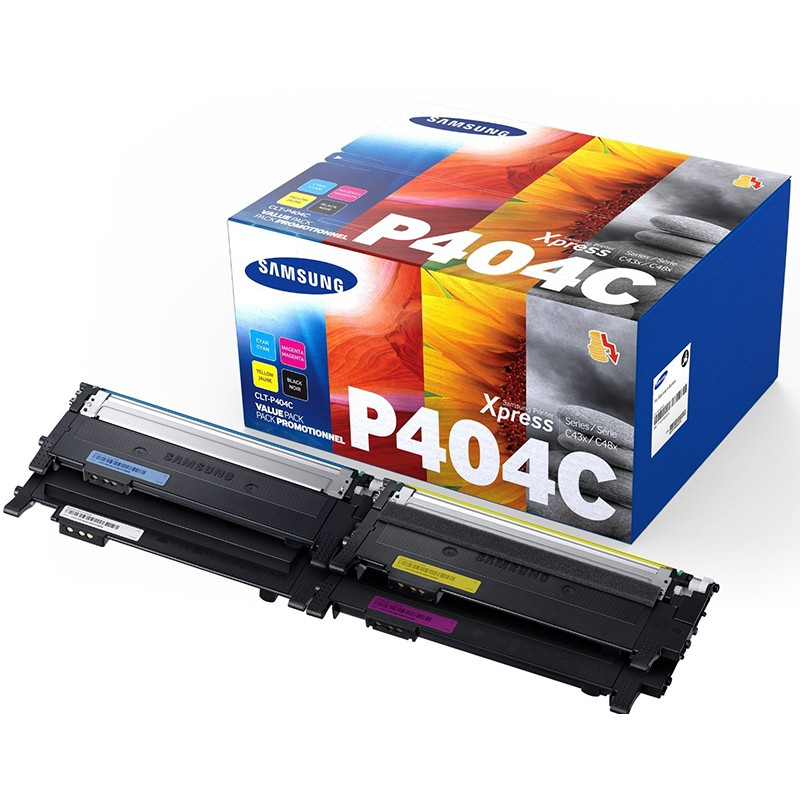 Samsung CLT-P404C Pack 4 colores Original