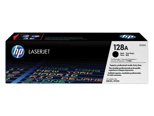 HP 128A (CE320A) Toner Original Negro
