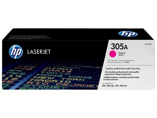 HP 305A LaserJet Toner Cartridge (CE413A) Magenta
