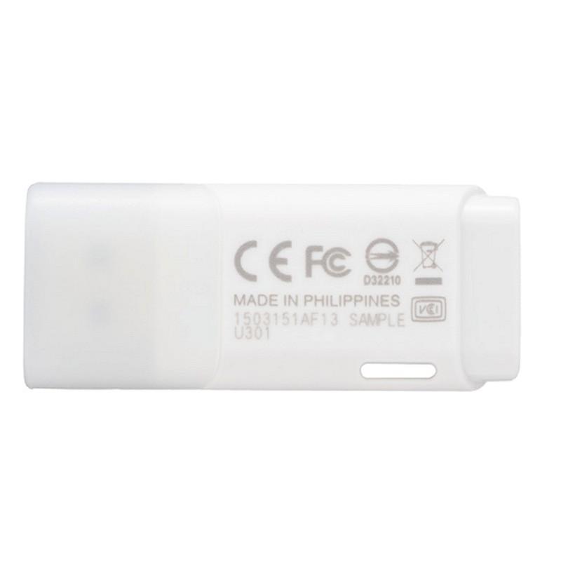 Pendrive 16GB Toshiba Hayabusa Blanco