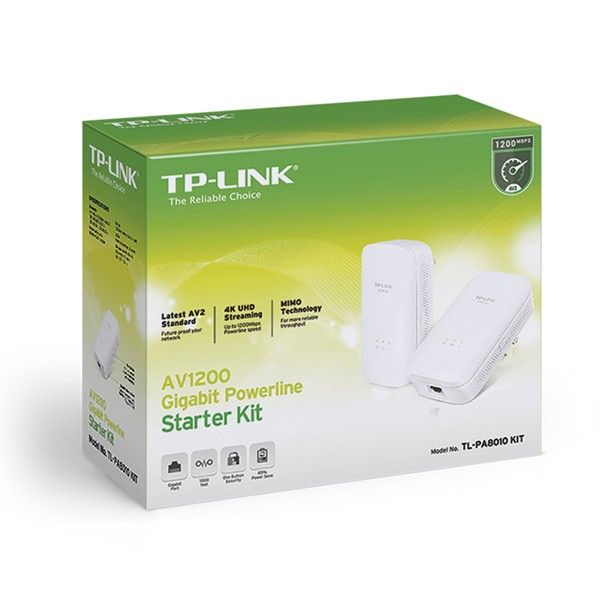 Powerline PLC AV1200 Tp-Link TL-PA8010 KIT