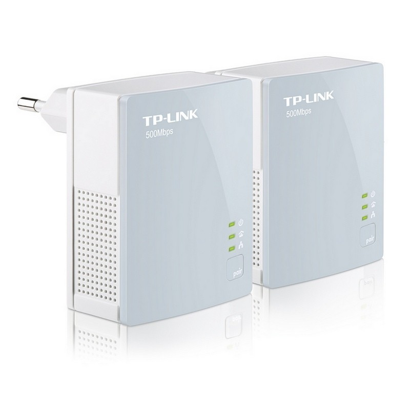 Kit para Red PLC Mini TP-Link TL-PA411KIT 500 Mbps