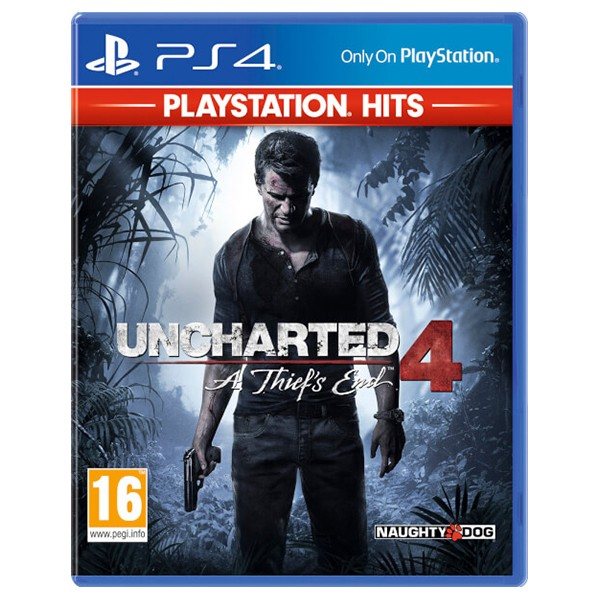 PS4 Juego Uncharted 4 El Desenlace del Ladrón