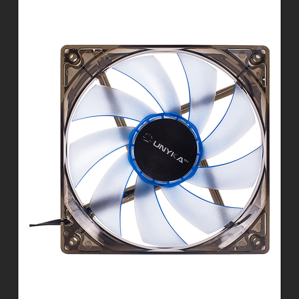 Ventilador para Caja UNYKA Gaming LED 120MM Azul