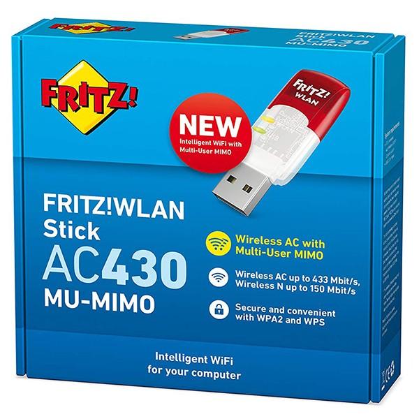 USB Wifi AVM FRITZ!WLAN Stick AC 430 MU-MIMO