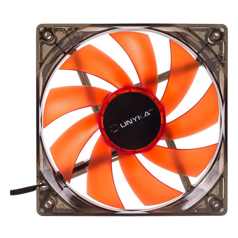 Ventilador para Caja UNYKA Gaming LED 120MM Rojo