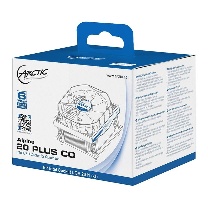 Ventilador CPU Arctic Alpine 20 PLUS CO LGA 2011-3 y 2066