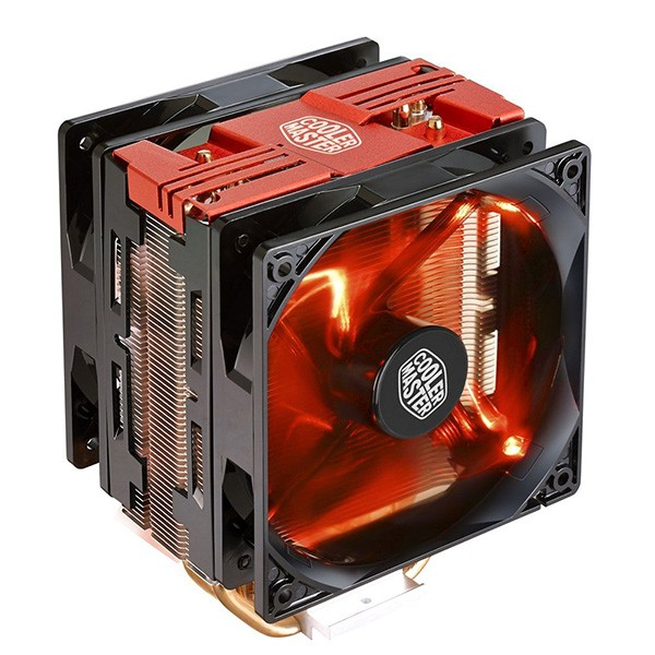 Ventilador CPU Cooler Master Hyper 212 Turbo LED Rojo