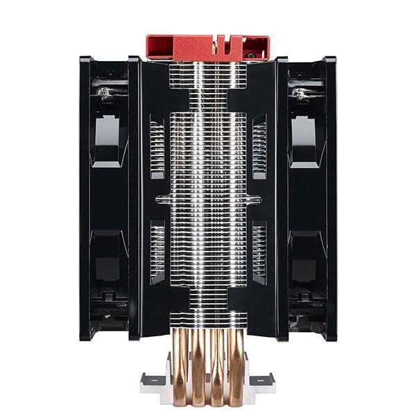 Ventilador CPU Cooler Master Hyper 212 Turbo LED Rojo
