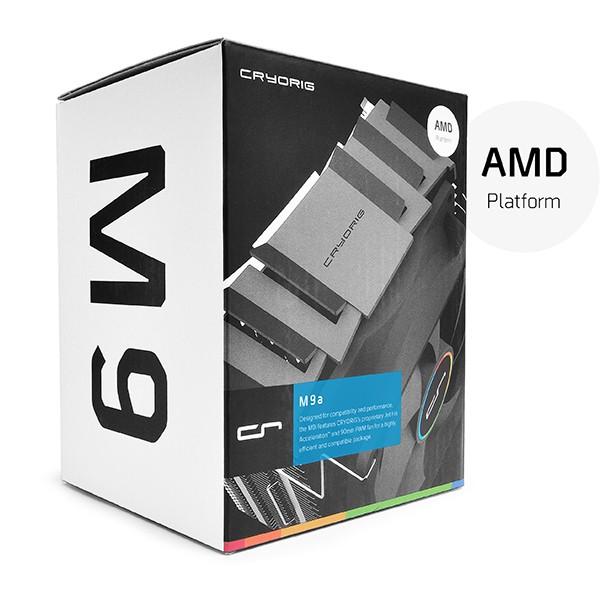 Ventilador Disipador para CPU Cryorig M9A Gaming para AMD