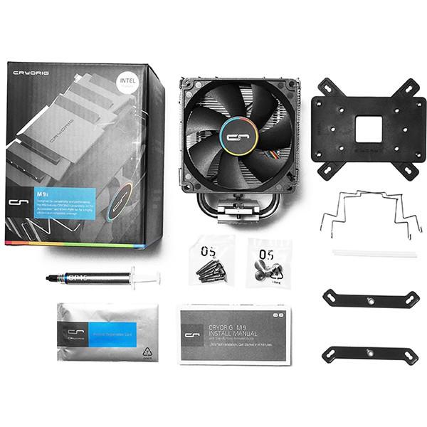 Ventilador Disipador para CPU Cryorig M9I Gaming para Intel