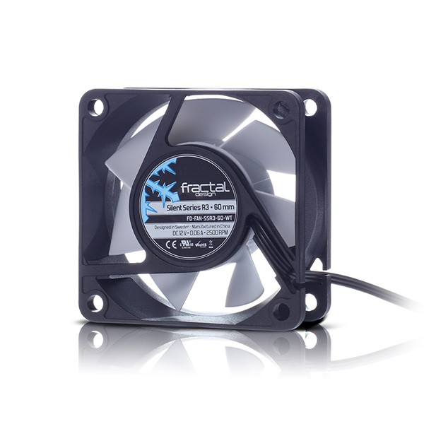 Ventilador PC Fractal Silent Series R3 60mm