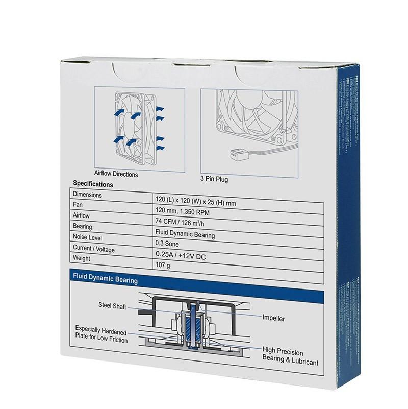 Ventilador PC Arctic F12 120mm
