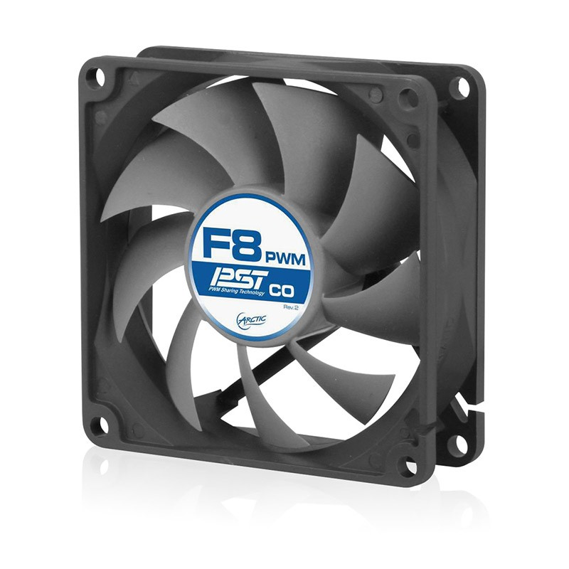 Ventilador PC Arctic F8 PWM PST CO Rev 2. 80mm