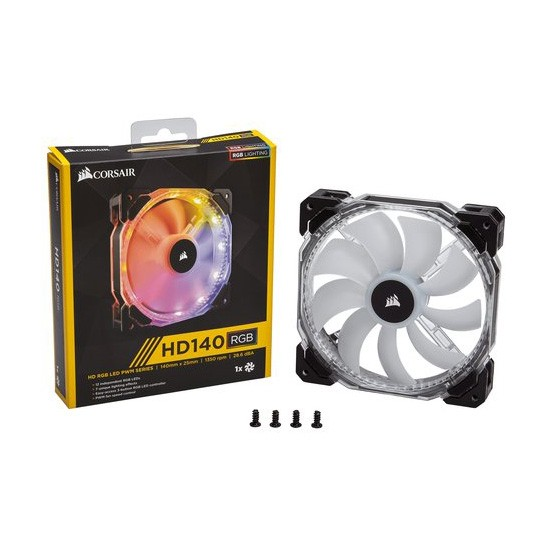 Ventilador PC Corsair HD140 RGB LED PWM 140 mm