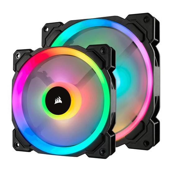 Ventilador PC LED Corsair LL140 RGB Dual Loop 140mm