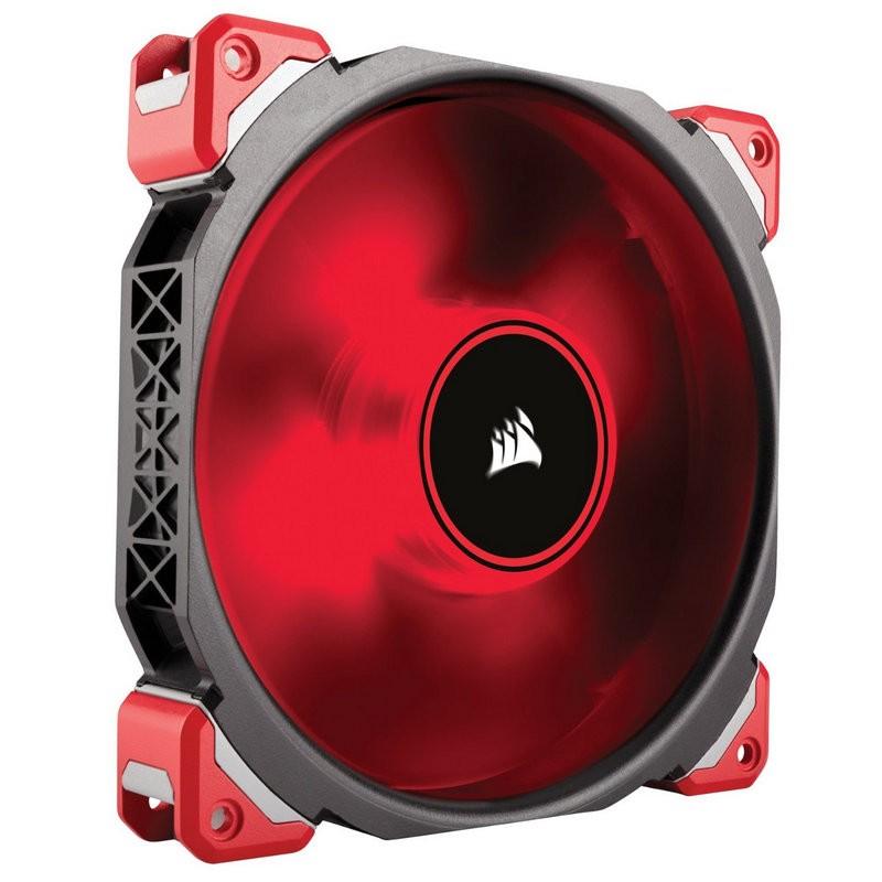 Ventilador PC Corsair ML140 Pro 140mm Levitación Magnética LED Rojo