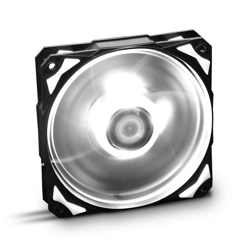 Ventilador PC Nox Hummer H-Fan LED Blanco 12cm