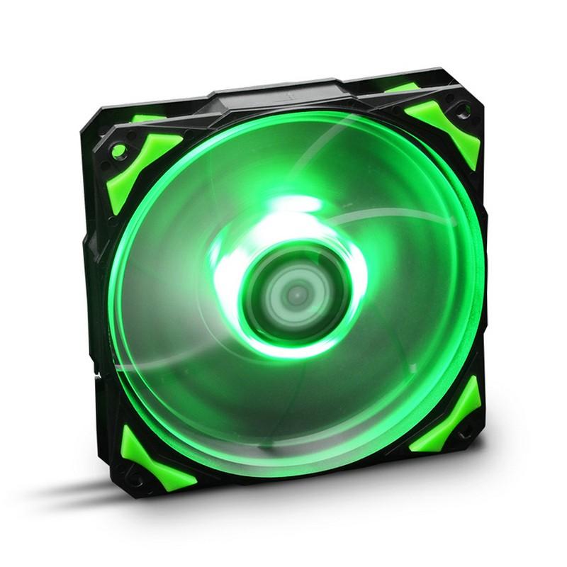 Ventilador PC Nox Hummer H-Fan LED Verde 12cm