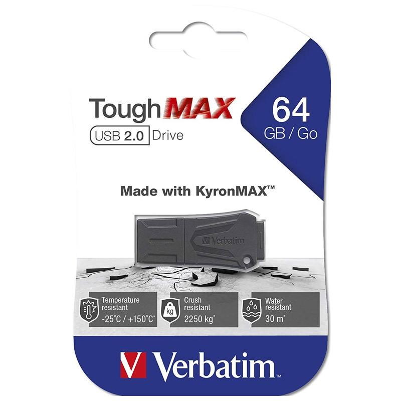 Pendrive 64GB Verbatim ToughMAX