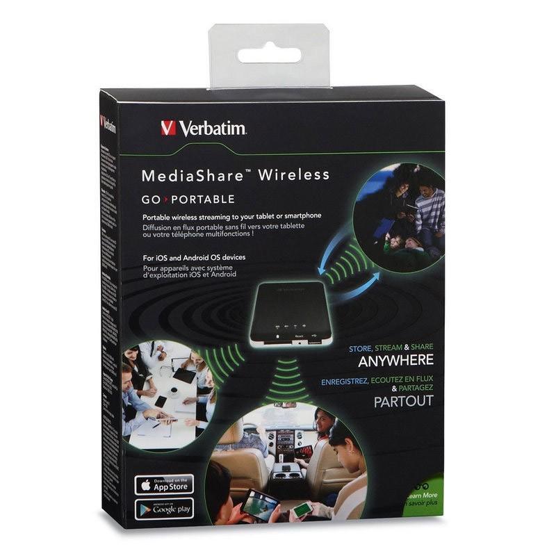 MediaShare Wireless Verbatim Lector Inalambrico (SD / USB)