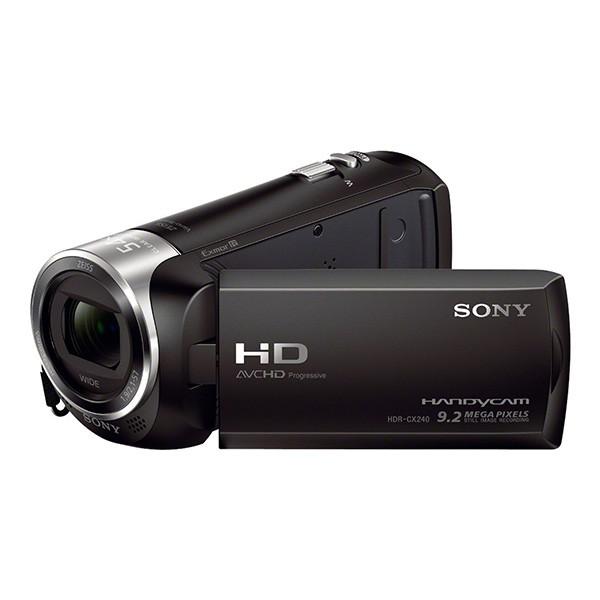 Videocámara Sony Handycam HDR-CX240E con sensor CMOS Exmor R