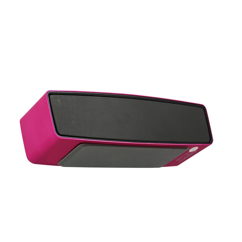 Altavoz Portátil Bluetooth Woxter Big Bass BT-10 Rosa