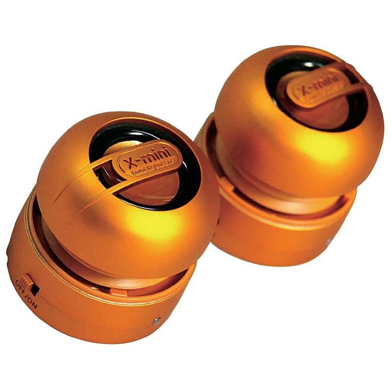 Altavoz Portátil X-Mini Max Capsule Speaker XAM15 Naranja