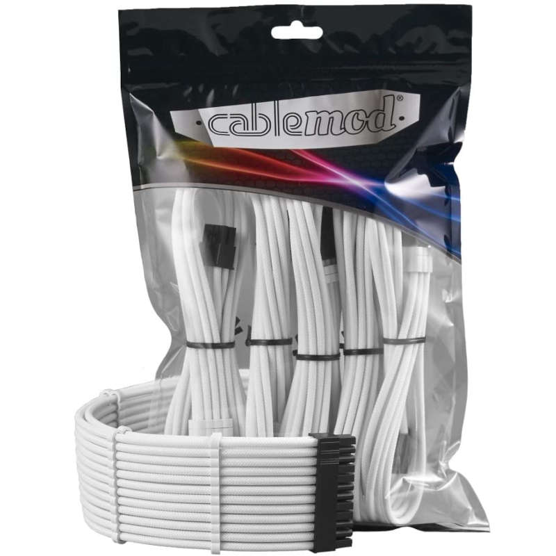 Kit de cables Cablemod PRO ModMesh Blanco