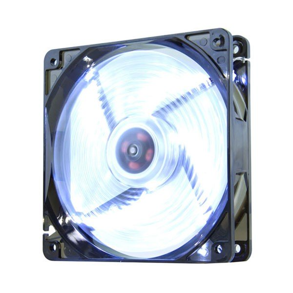 Ventilador para Caja Nox CoolFan 120MM Led Blanco