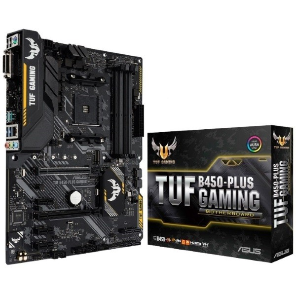 Placa Base Asus TUF B450-Plus Gaming ATX AM4