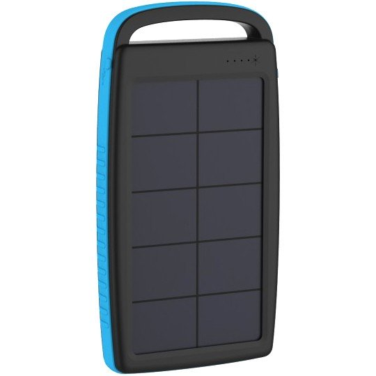 PowerBank XLayer PLUS Solar Black/Blue 20000mAh