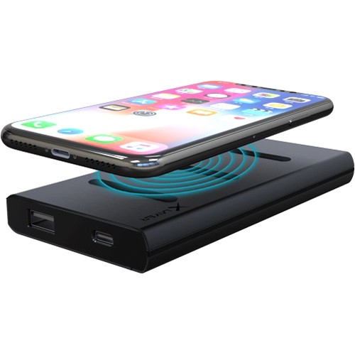 PowerBank XLayer Wireless Charger Con Dock Qi Anthracite 6000mAh