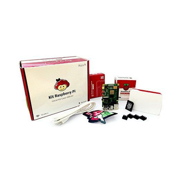 Kit Raspberry Pi 4 Model B - 8GB RAM + Carcasa + Cargador