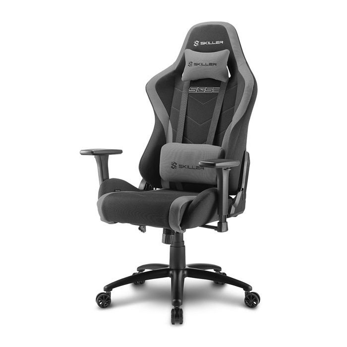 Silla Gamer Sharkoon SKILLER SGS2 Negra / Gris