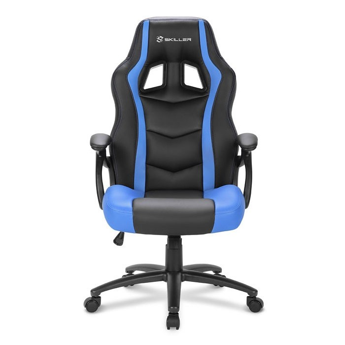 Silla Gamer Sharkoon SKILLER SGS1 Negra / Azul