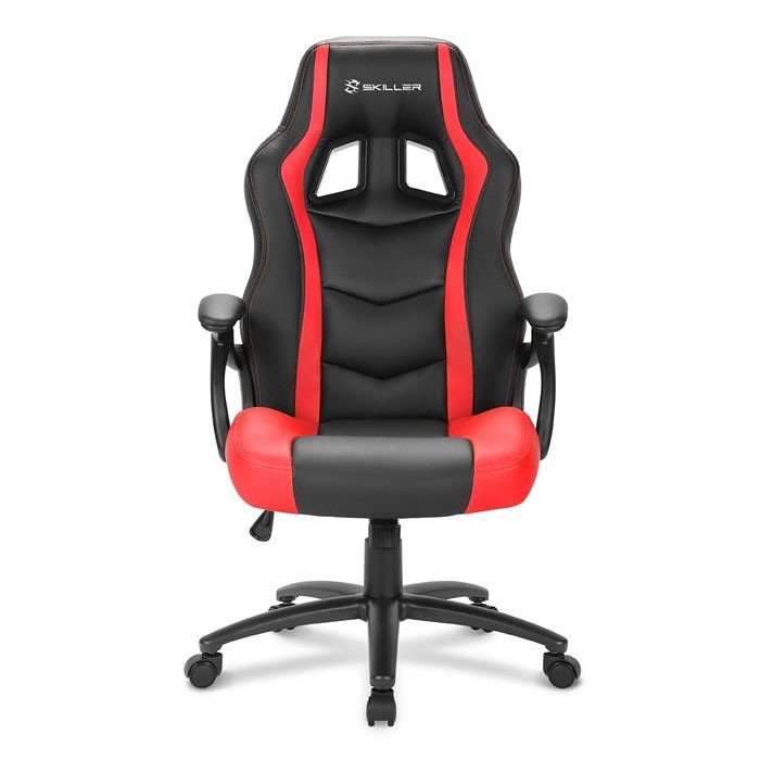 Silla Gamer Sharkoon SKILLER SGS1 Negra / Roja