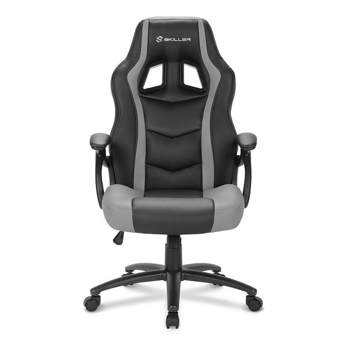 Silla Gamer Sharkoon SKILLER SGS1 Negra / Gris
