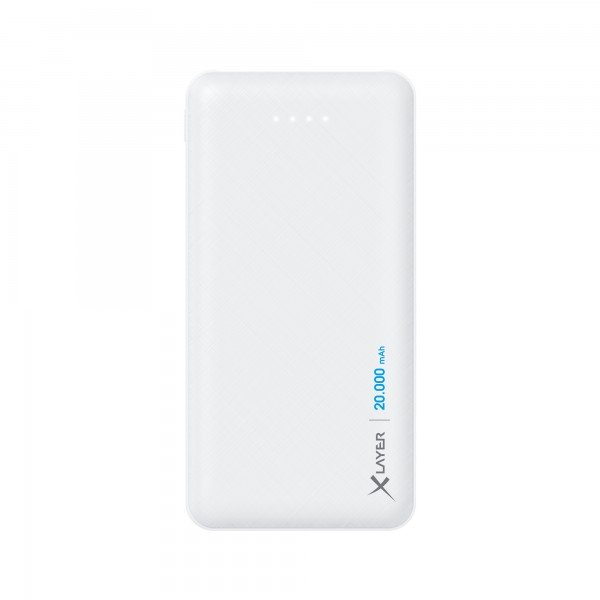 Powerbank Xlayer Micro White 20.000mAh