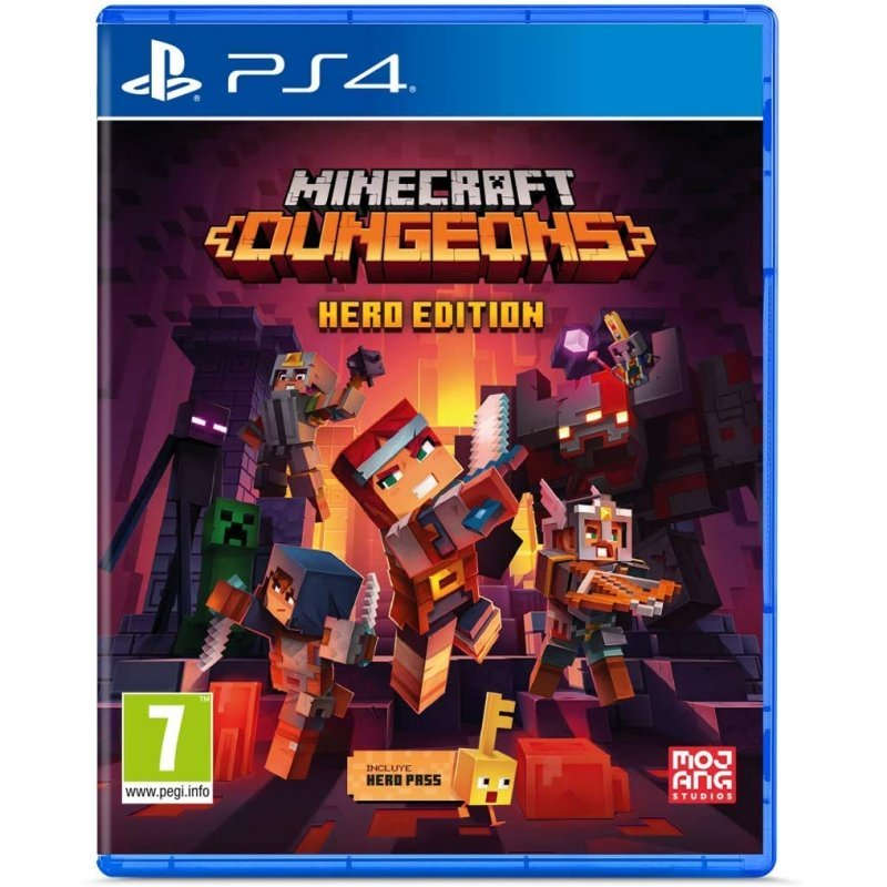 PS4 Juego Minecraft Dungeons Hero Edition