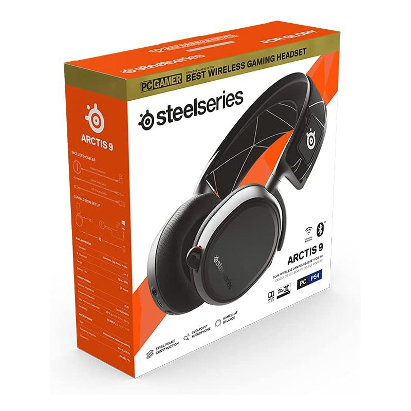 Auriculares Inalámbricos SteelSeries Arctis 9 Gaming