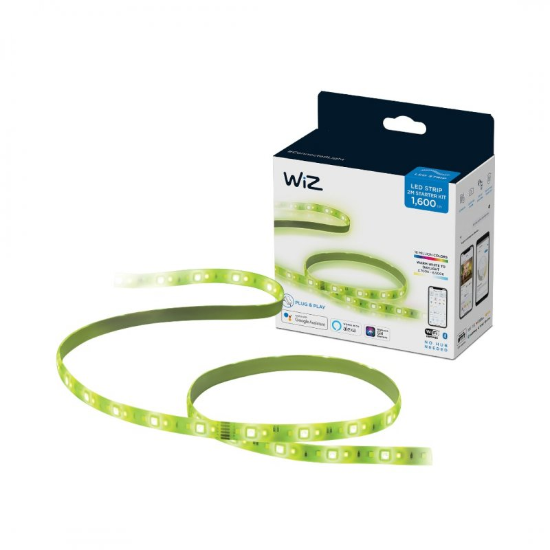 Tira LED Inteligente Wiz Kit de Inicio de Tira LED 2 m