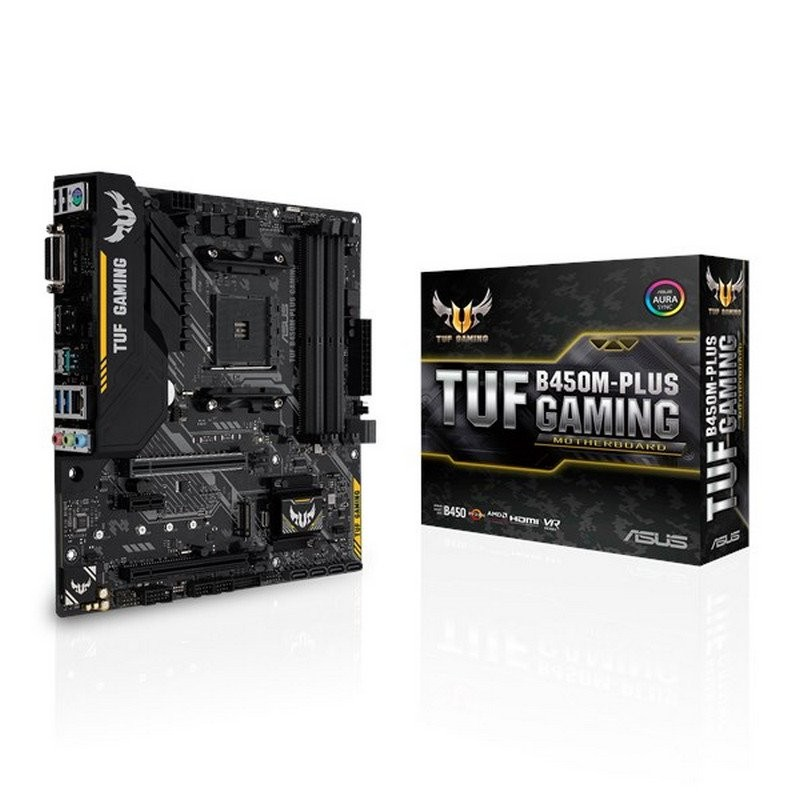 Placa Base Asus TUF B450M-PLUS Gaming mATX Socket AM4
