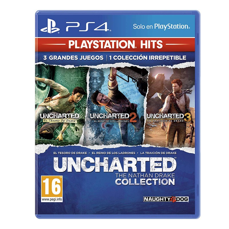 PS4 Juego Uncharted Collection Hits